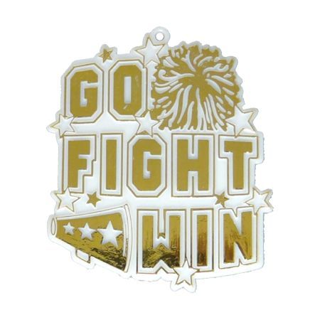 "Go Fight Win Charm 2.5"" - 2 Pieces"