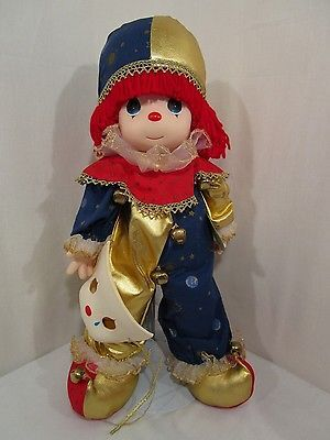 Precious-Moments-Put-On-A-Happy-Face-Clown-Classic-Doll-1994-Limited-Edition