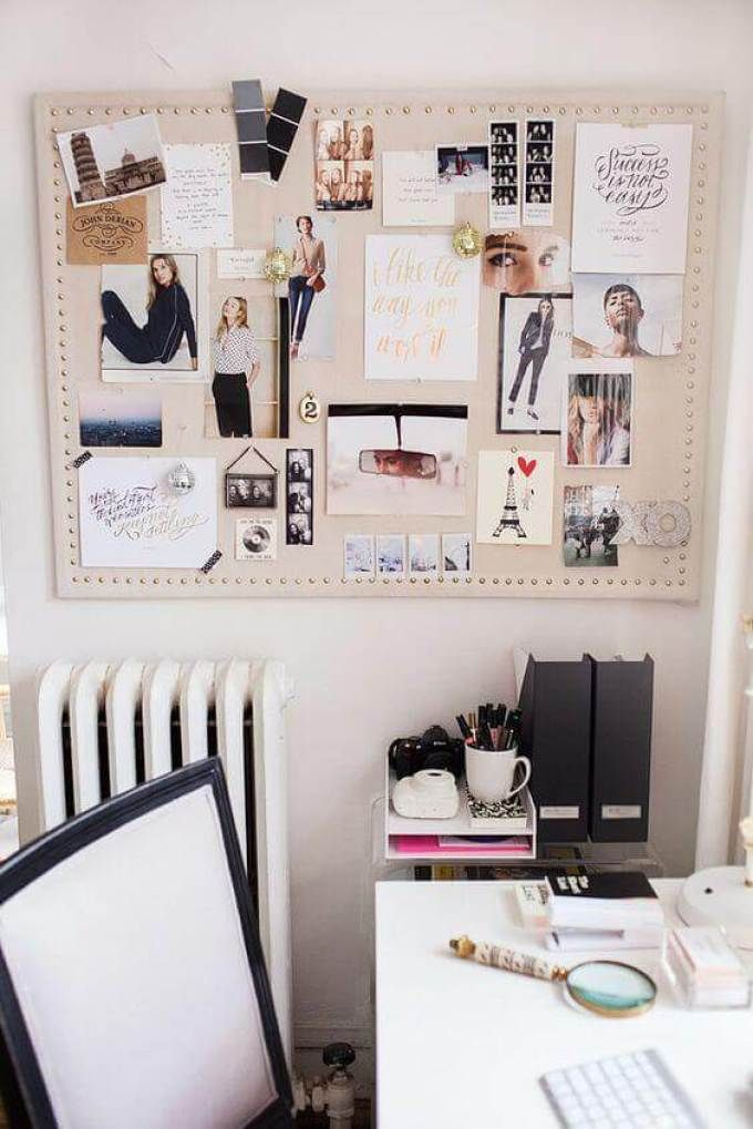 20 smart cork board ideas for walls in office or bedroom on inspiring workspace with a cork wall creating a custom cork board for your home id=49736