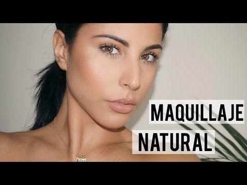 Maquillaje NATURAL y RADIANTE para el día a día Eva Davis - maquillaje natural de dia