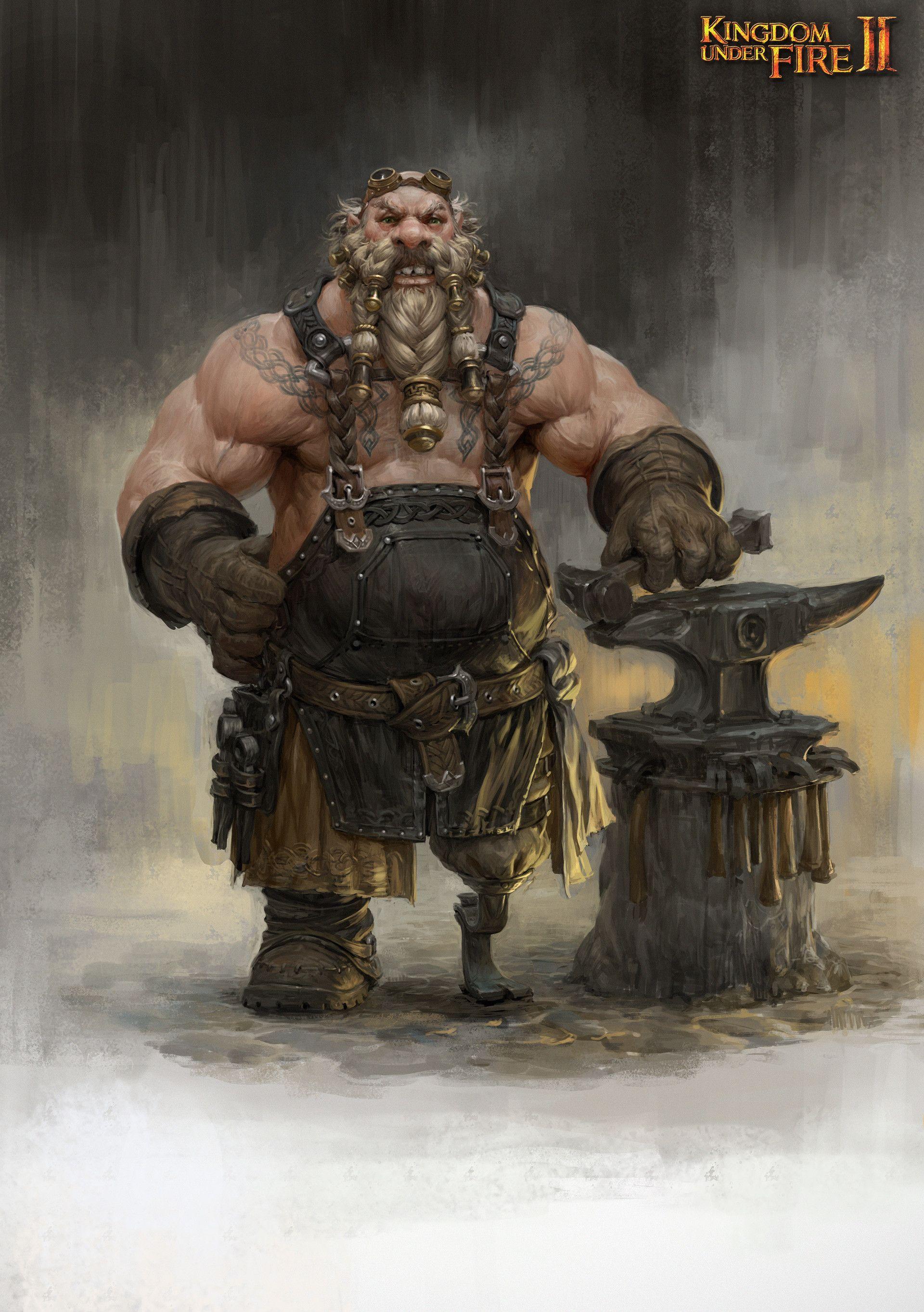 ArtStation - kingdom under fire2 dwarf concept , Sungryun Park | Fantasy  dwarf, Fantasy character design, Dnd dwarf