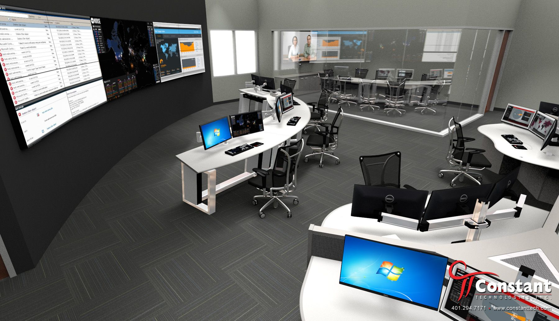 Digital Operations Center - Rendering by Constant Technologies