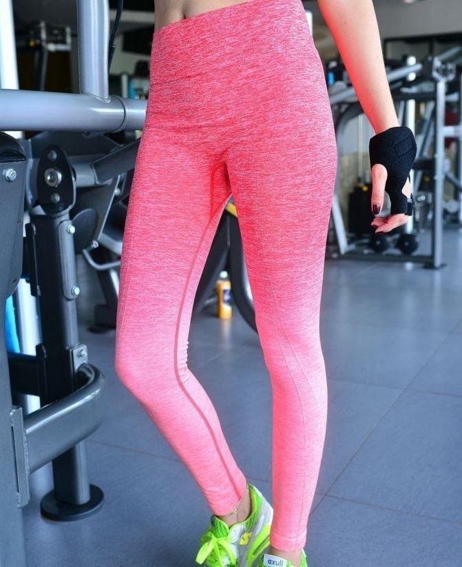 Dámské sportovní legíny růžové – dámské legíny + POŠTOVNÉ ZDARMA Na tento  produkt se vztahuje nejen zajímavá sleva 142a4716a9