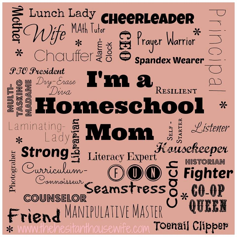 Love it. I am all these and more! #homeschool #mom | Homeschooling ...