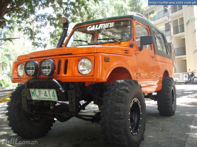 Orange Samurai From The Phillipines 3 | Suzuki Samurais ...  Orange Samurai ...