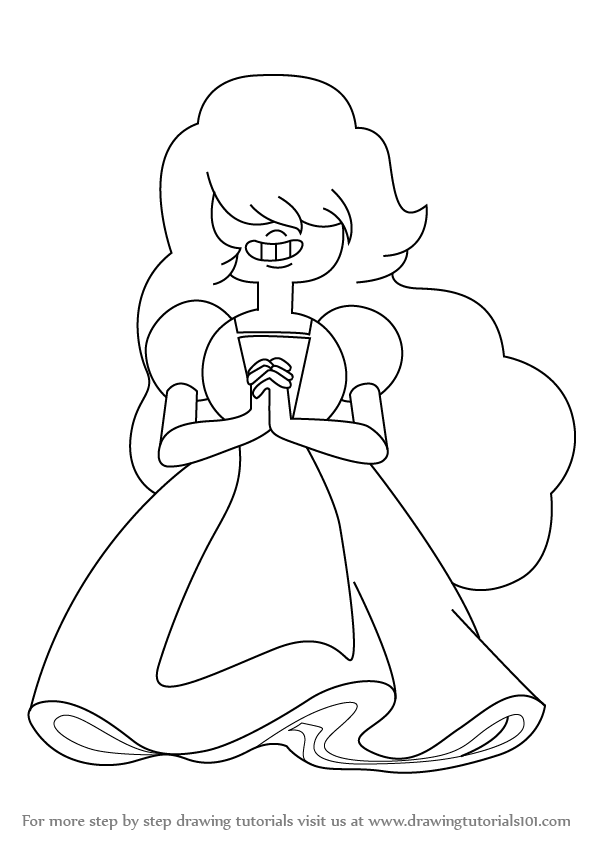 Learn How to Draw Sapphire from Steven Universe (Steven
