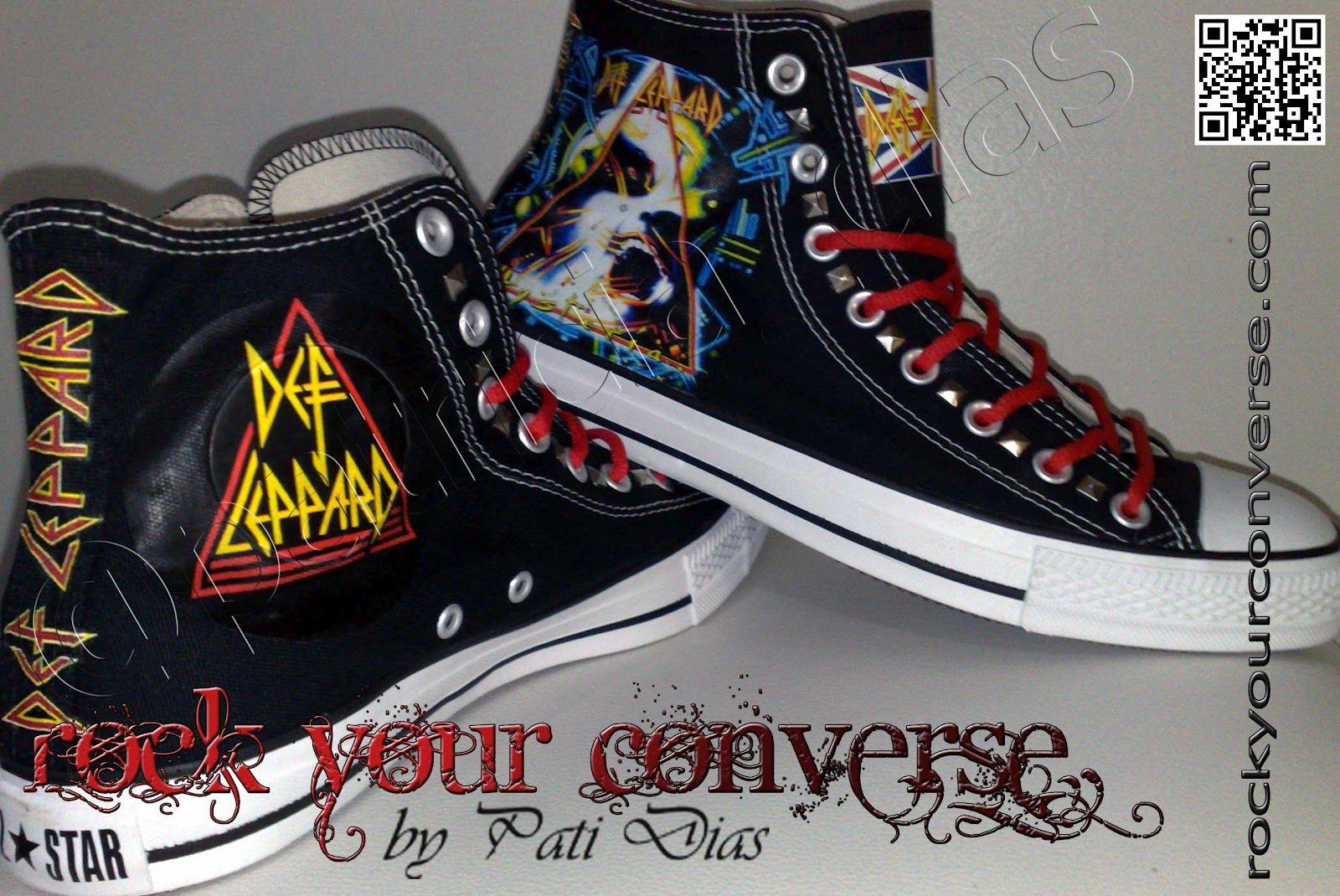 030de489395c DefLeppard Converse   wanted !