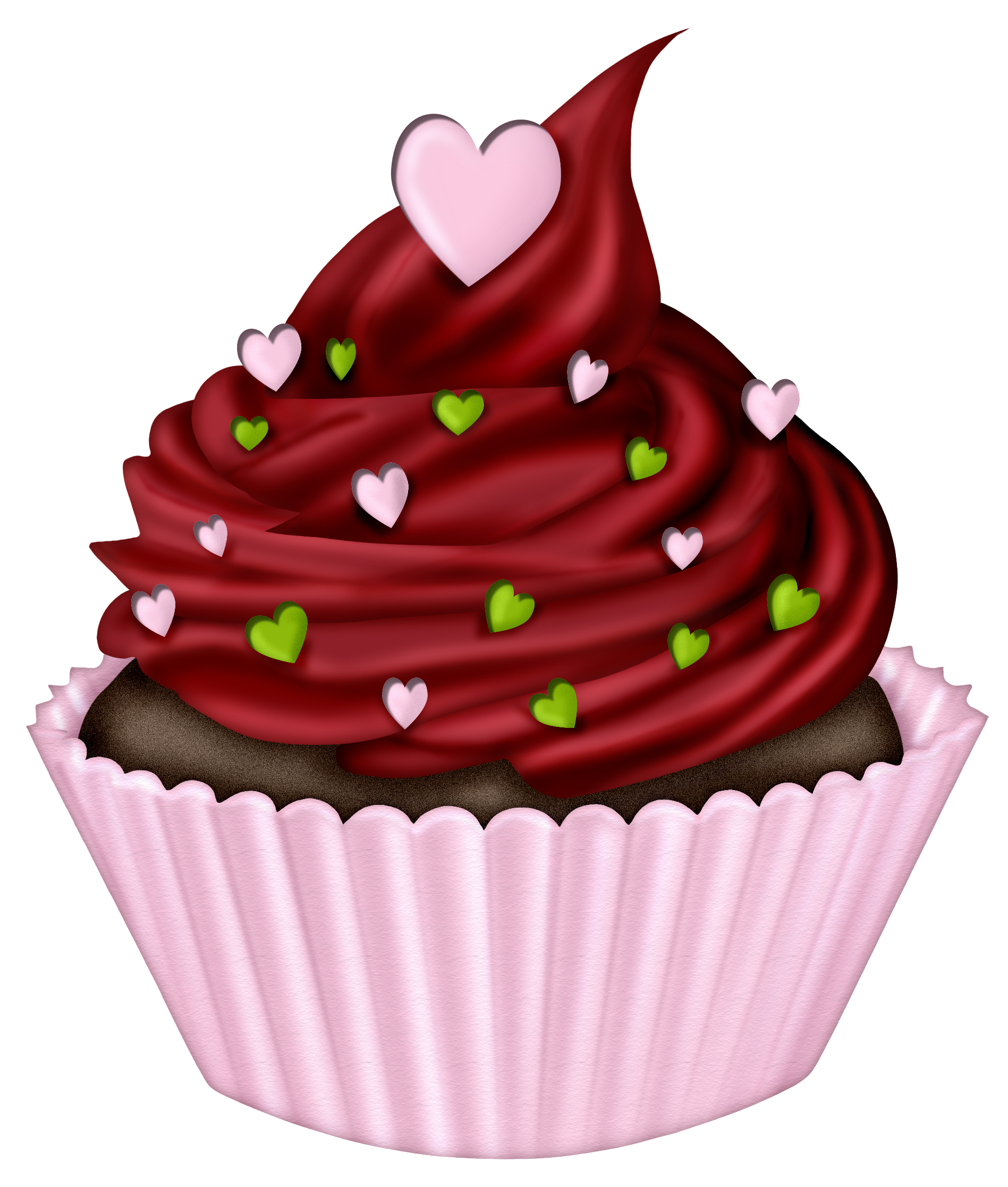 Cupcakes‿ ⁀°•• Cupcake cakes, Cupcake clipart, Cupcake