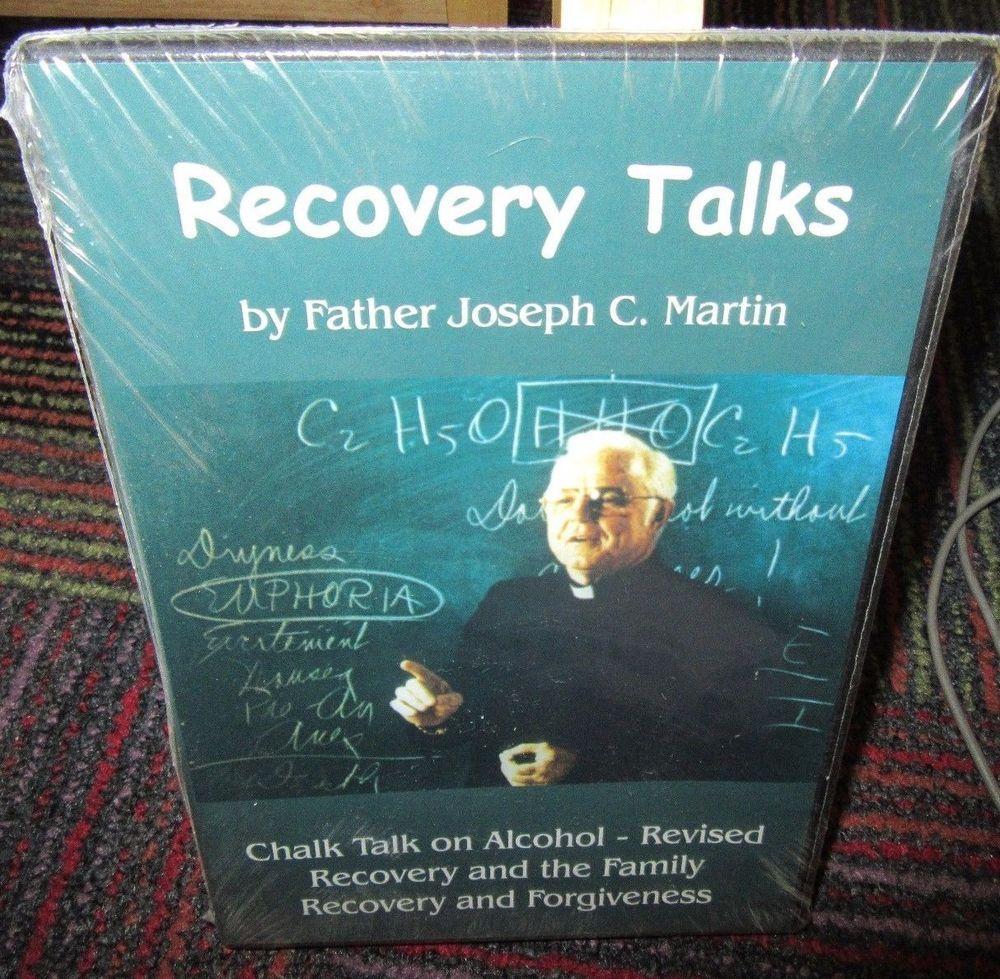 NEW RECOVERY TALKS DVD, CHALK TALK ON ALCOHOL - FAMILY RECOVERY & FORGIVENESS