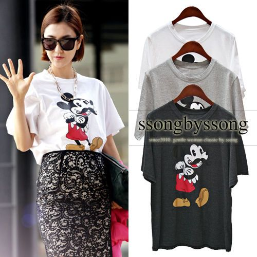 Wit Galary Mickey Mouse T Shirt