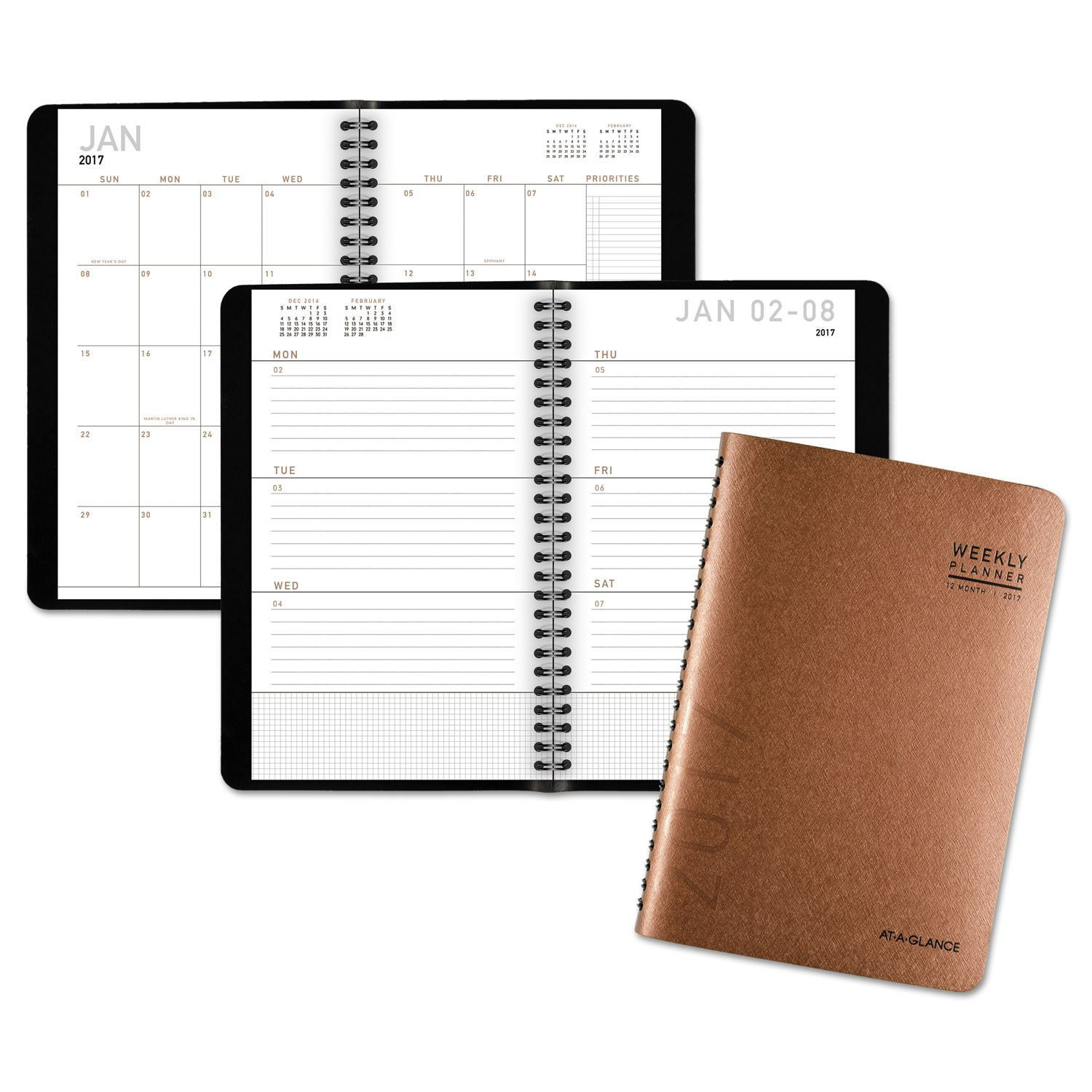 contemporary desk weekly monthly appointment book 5 3 4 x 8 3 8