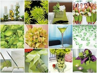 Lime Green Weddings Google Search