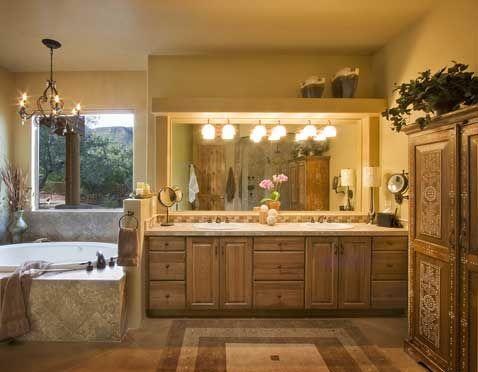 Bathroom In Tucson, AZ. Interior Designer: Designlines, Patricia Mooney