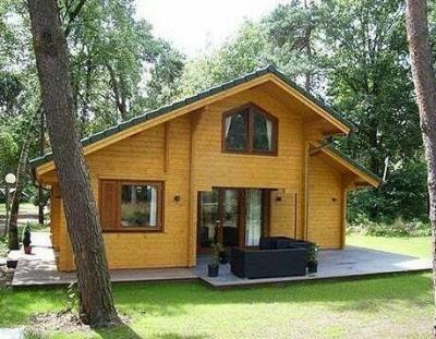 Holzhaus Carina Einfamilienhaus von Blockhaus 24