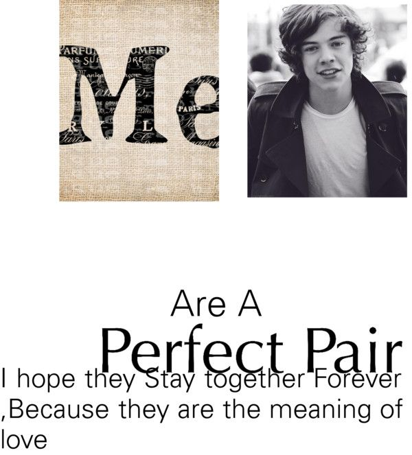 """""""Perfect Pair"""" by i-love-harry-styles-5 ❤ liked on Polyvore"""