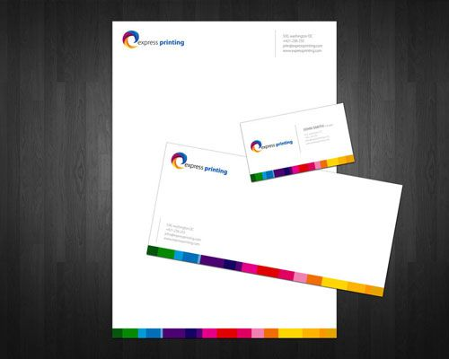 Express printing letterhead and logo design inspiration express printing letterhead and logo design inspiration reheart Gallery