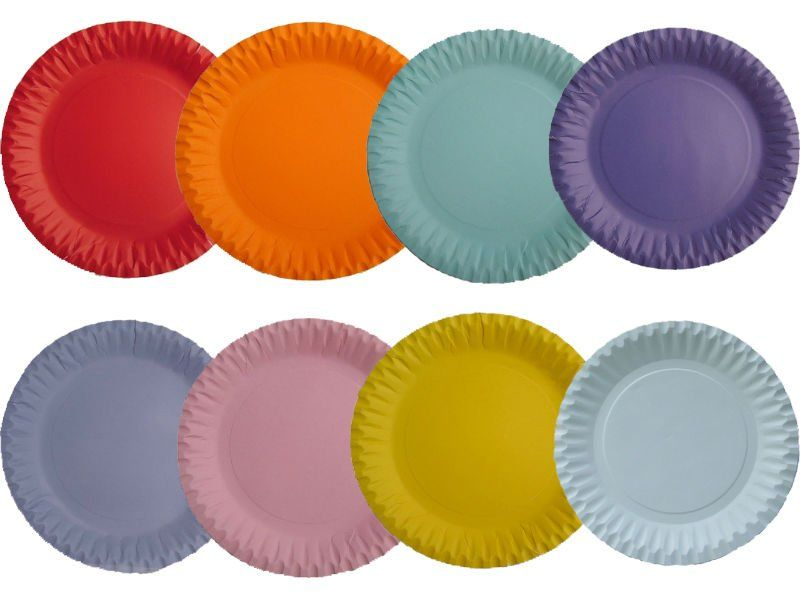 Paper Plates Coloured Wedding & Paper Plates Coloured Wedding | Wedding Decorations | Pinterest ...