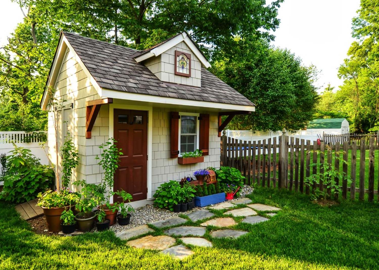 40 Simply amazing garden shed ideas | Amazing gardens, Gardens and ...