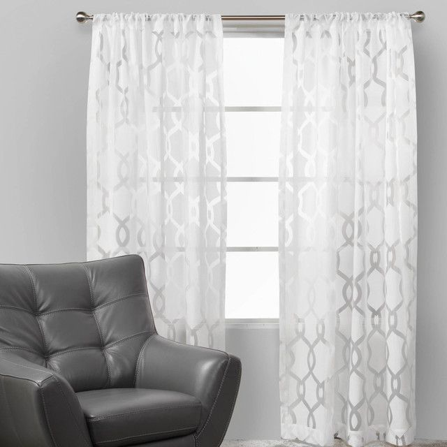 Bed frame curtains!