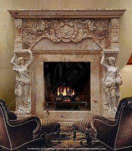 antique marble fireplace mantels. Grand Antique Marble Mantel  Fireplace Mantels Pinterest