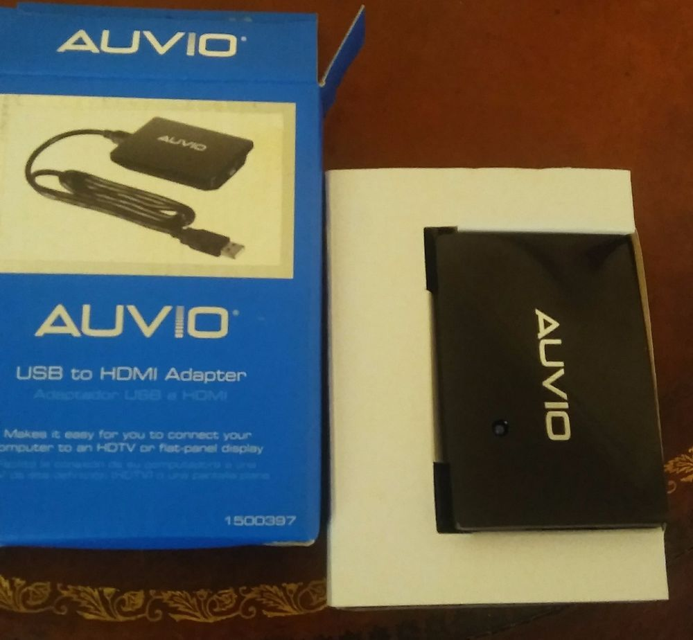 DOWNLOAD DRIVERS: AUVIO USB HDMI PC TO TV ADAPTER