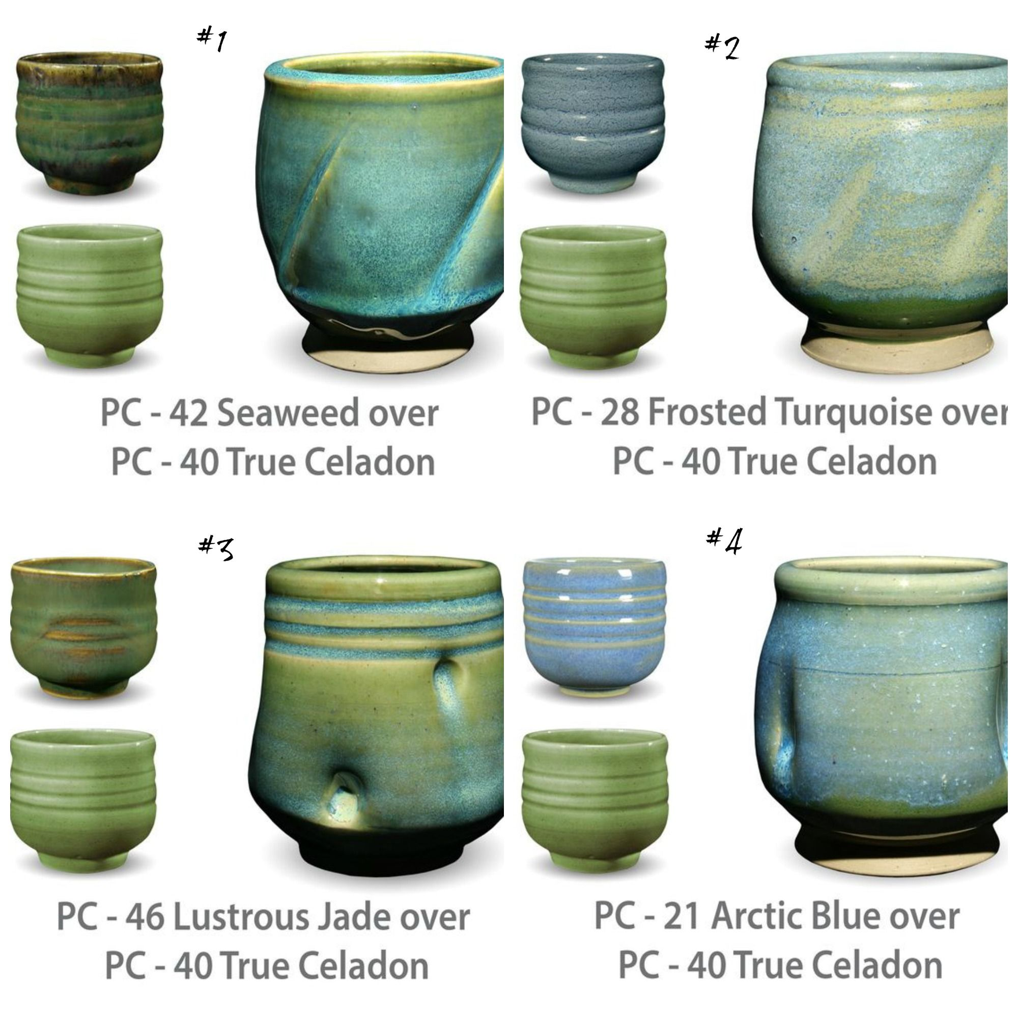 Here S Some Of The Glaze Combinations I M Wanting To Try On My Bottles And Vases Especially The Simple Glazes For Pottery Ceramic Glaze Recipes Glaze Ceramics