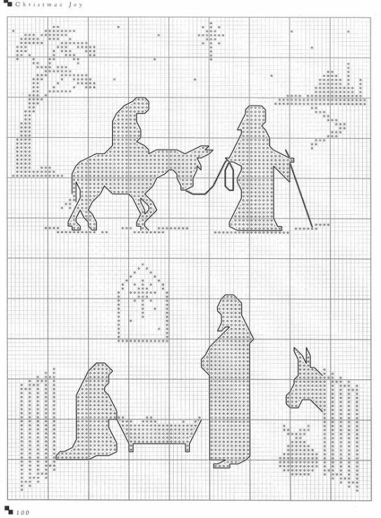 X-Stitch Nativity Sillhouettes ~ Gallery.ru / Фото #99