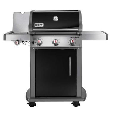 Weber Spirit E 320 3 Burner Propane Gas Grill In Black 46710001 Best Gas Grills Natural Gas Grill Gas Grill