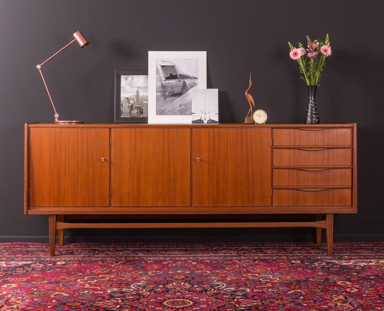 For Sale Scandinavian Design Teak Sideboard Germany 1950s Teak Sideboard Scandinavian Design Sideboard Scandinavian Design