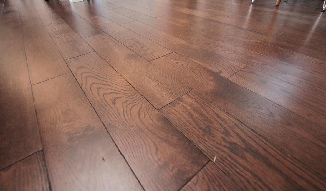 Mullican Flooring Castillian Solid Oak Coffee Bean