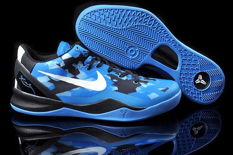 newest 6f2da 734df Kobe 8 Blue Black White Womens Shop Kobe Shoes 2013