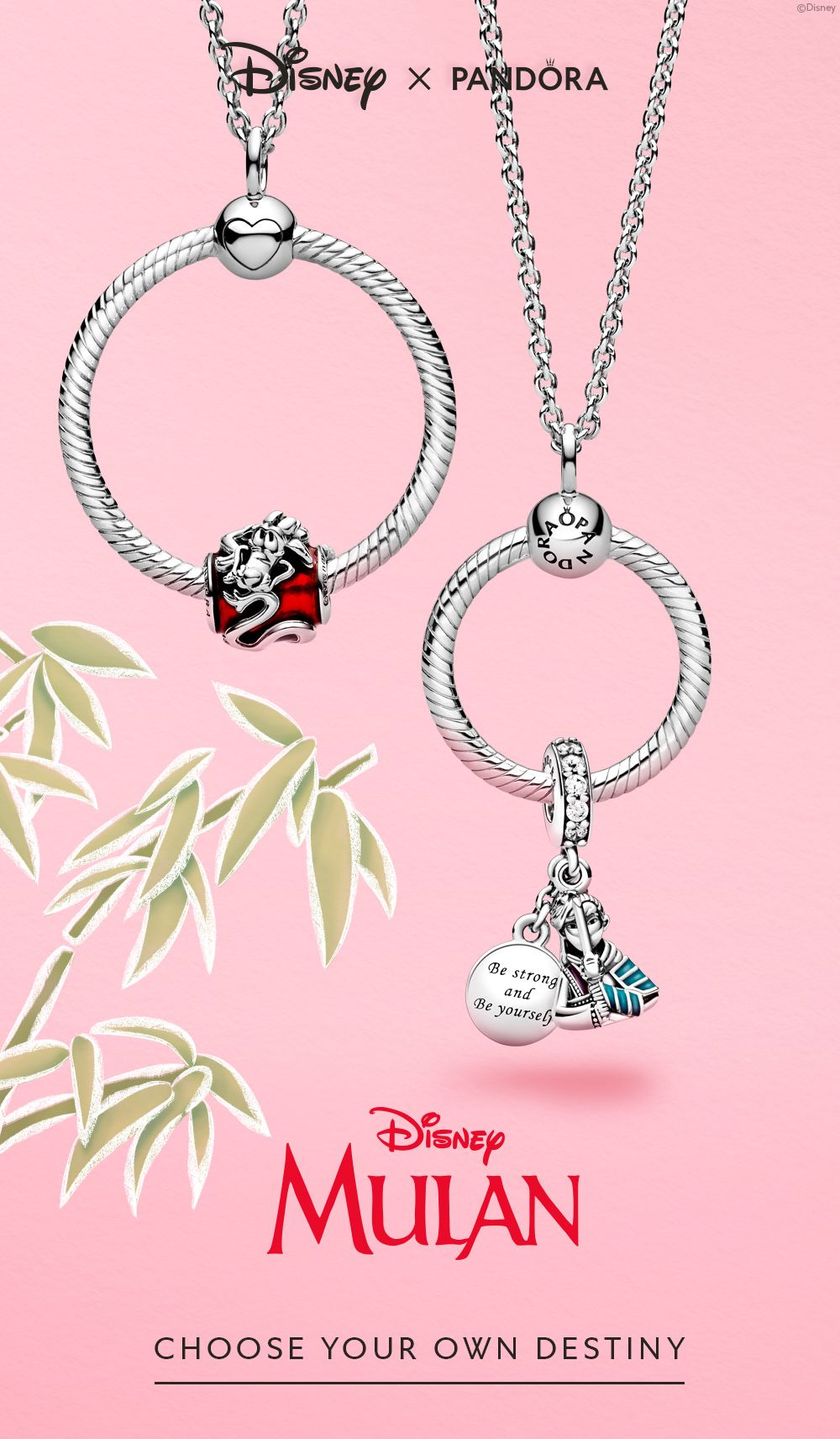 Disney Mulan x Pandora | Disney pandora bracelet charms, Pandora ...