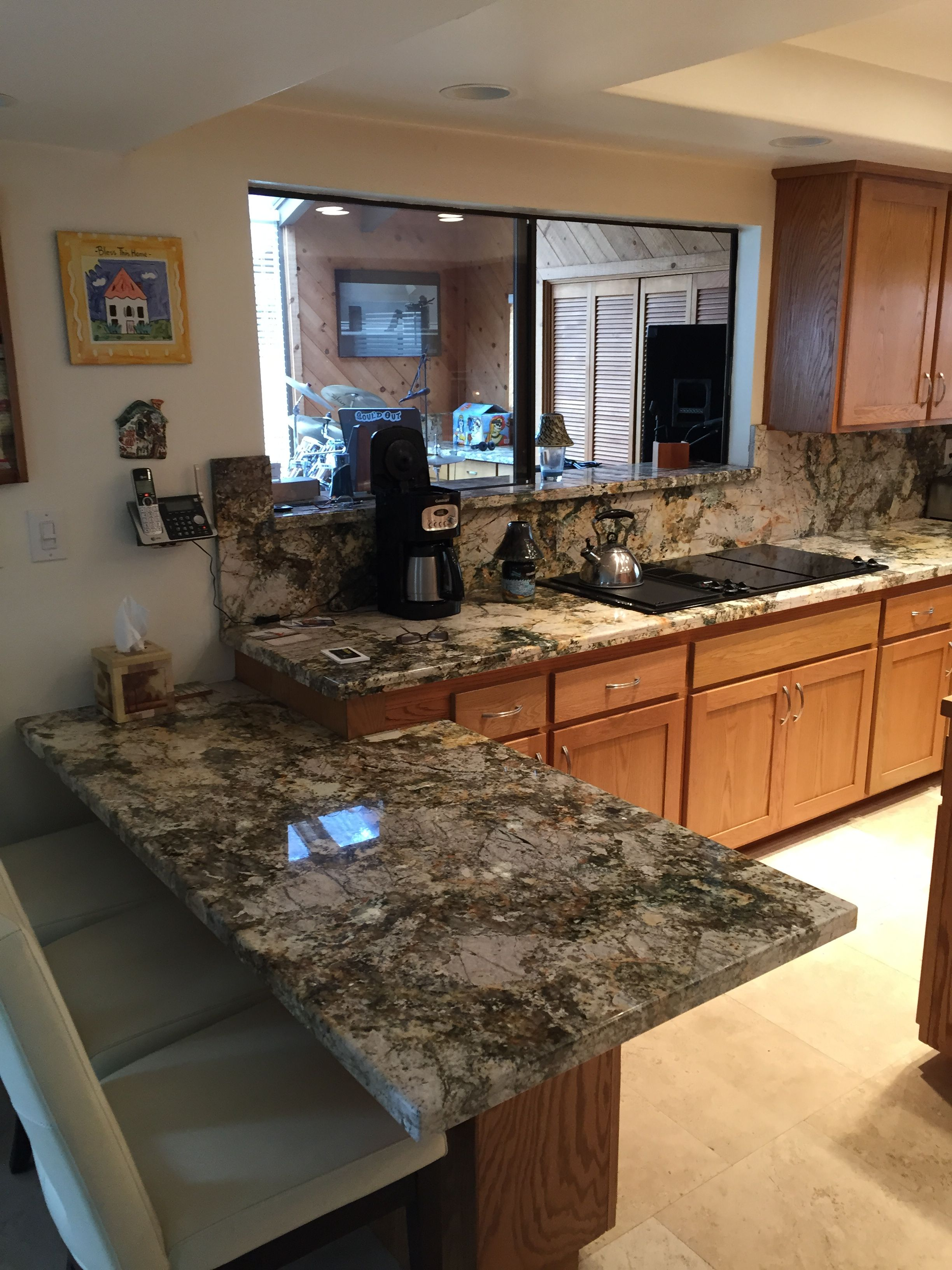 Barricato Granite Counter Top And Full Backsplash