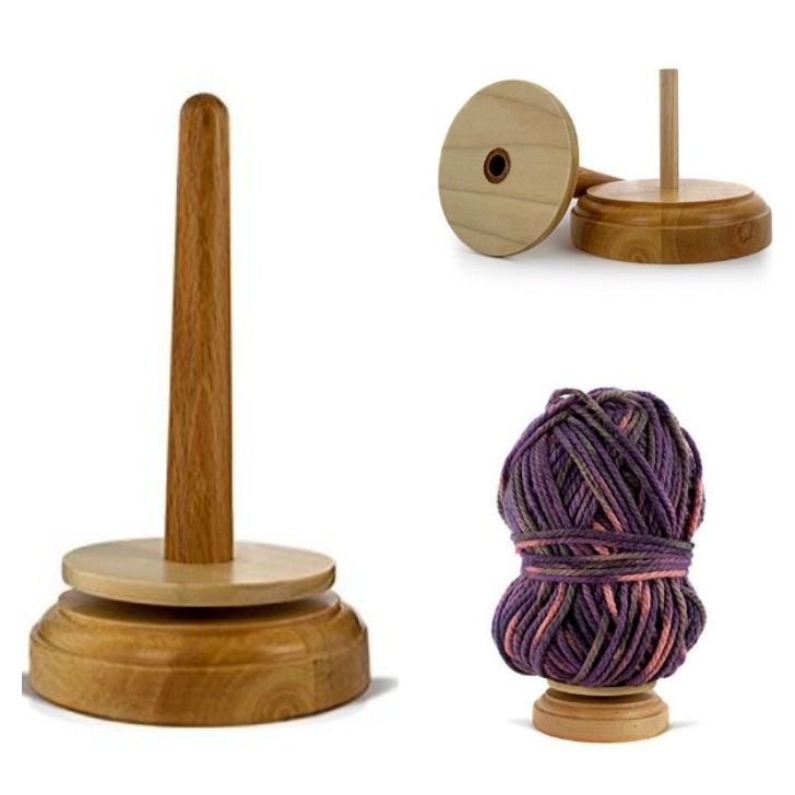 This is gorgeous – and practical! Have you used a yarn dispenser like this… #diyyarnholder