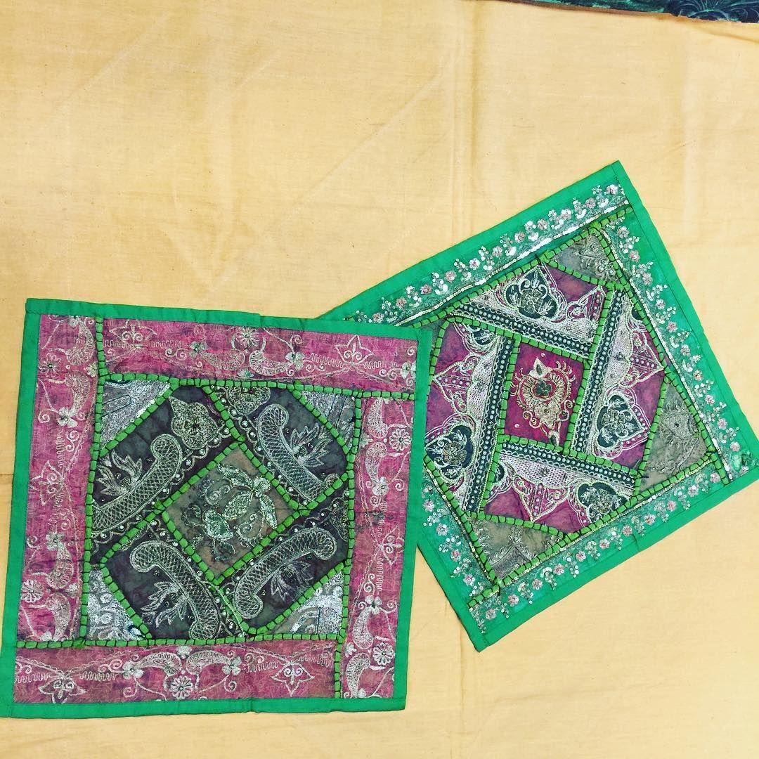 Ethnic cushion covers vintage patchwork decorative decorative