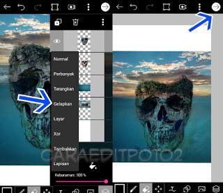 Tutorial Picsart Editing Manipulasi Skull Island Pengeditan Foto