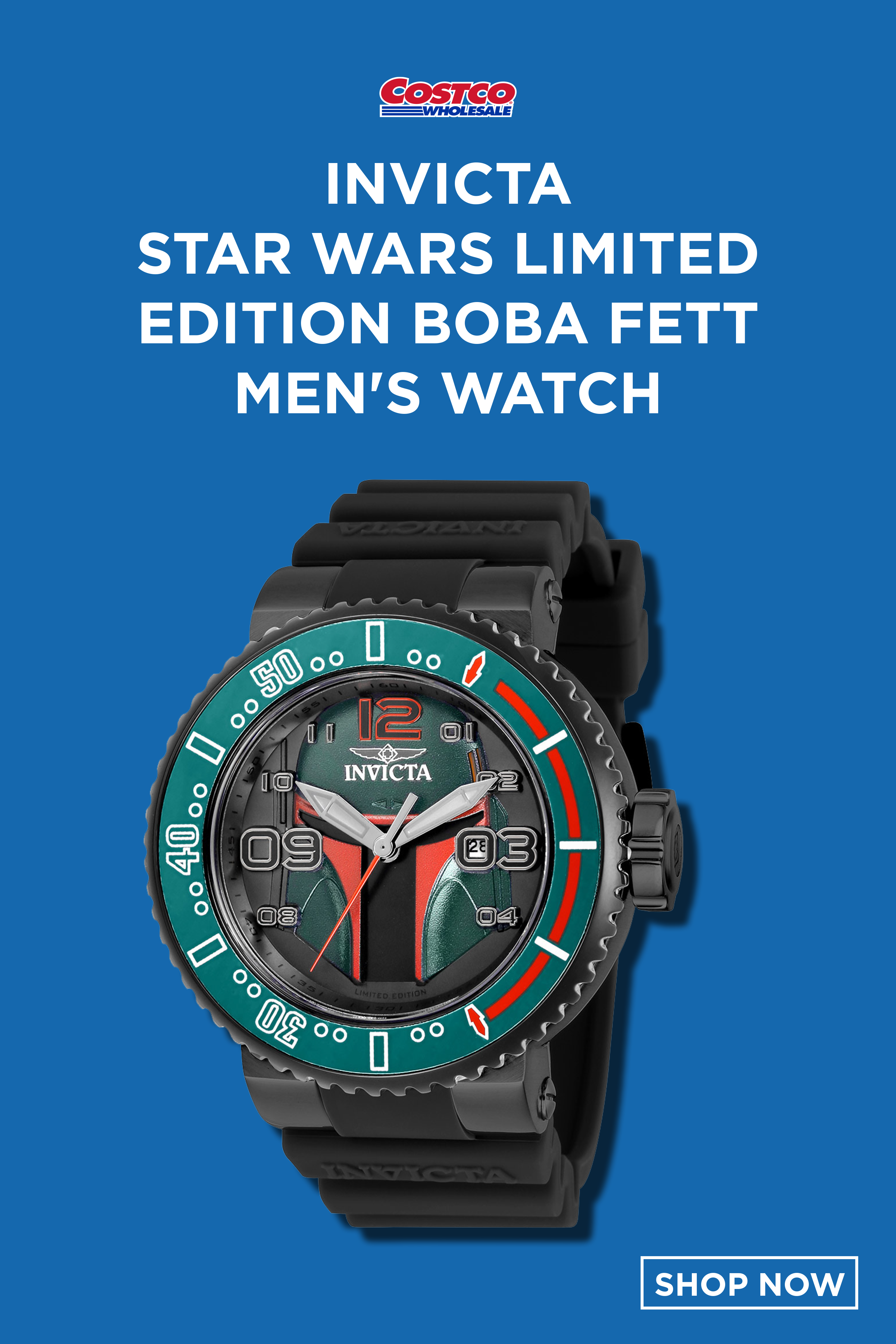 Invicta Star Wars Limited Edition Boba Fett Men S Watch Watches For Men Classic Watches Men Mens Watches Affordable [ 4592 x 3063 Pixel ]