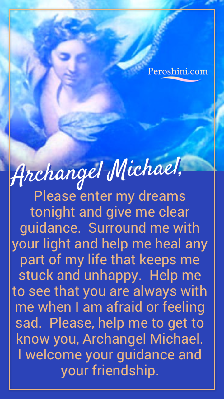 Archangel Michael loves to work with us and often appears