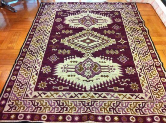 alfombras hechas a telar diseños lana de oveja telar mapuche