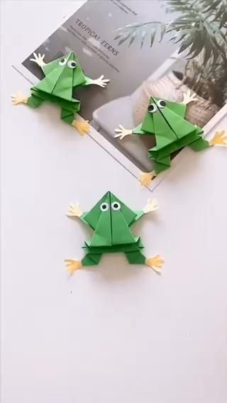 Photo of Paper Craft Frog
