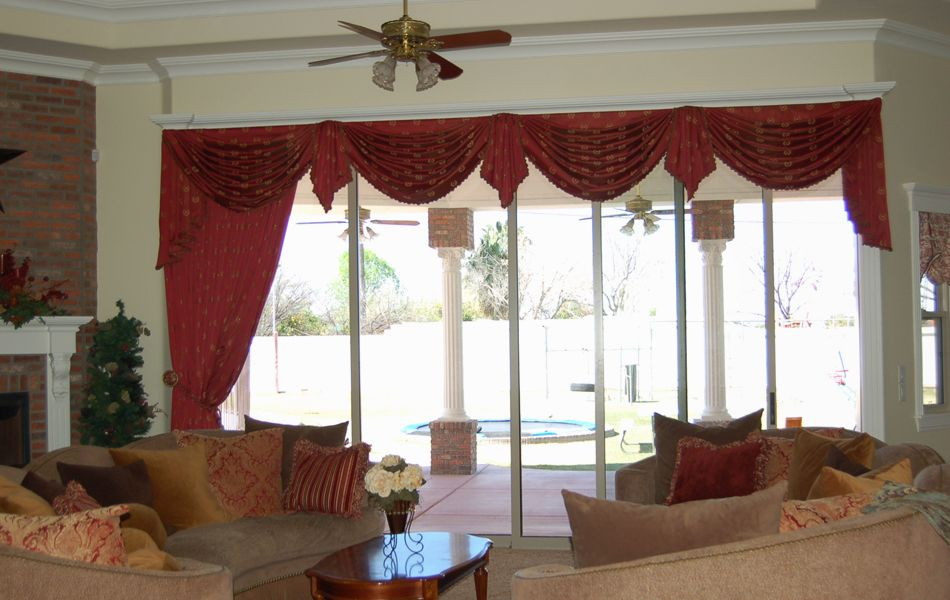 Hang Curtains or Valances for Living Room - http://nico ...