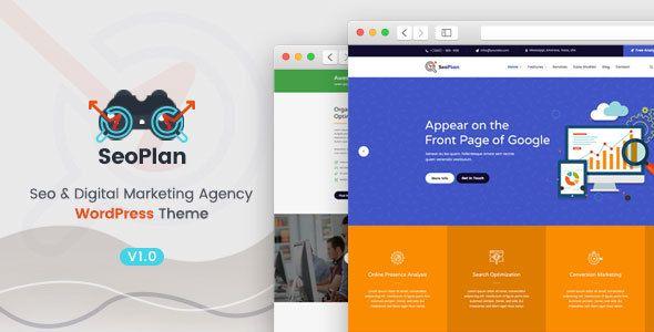 SeoPlan & Digital Marketing Agency WordPress Theme | Digital ...