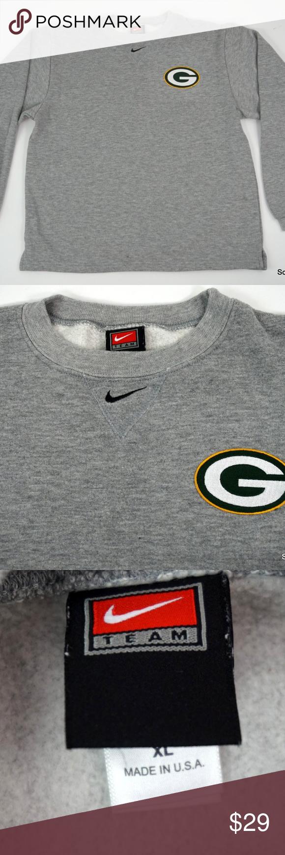 Vtg Boys Nike Green Bay Packers Sweatshirt Xl Green Bay Packers Sweatshirt Sweatshirts Packers Sweatshirt [ 1740 x 580 Pixel ]
