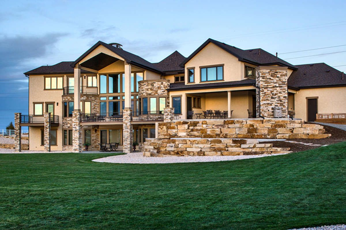 House Plan 5631 00071 Luxury Plan 5 449 Square Feet 4 Bedrooms 5 Bathrooms Basement House Plans Luxury House Plans Mountain House Plans