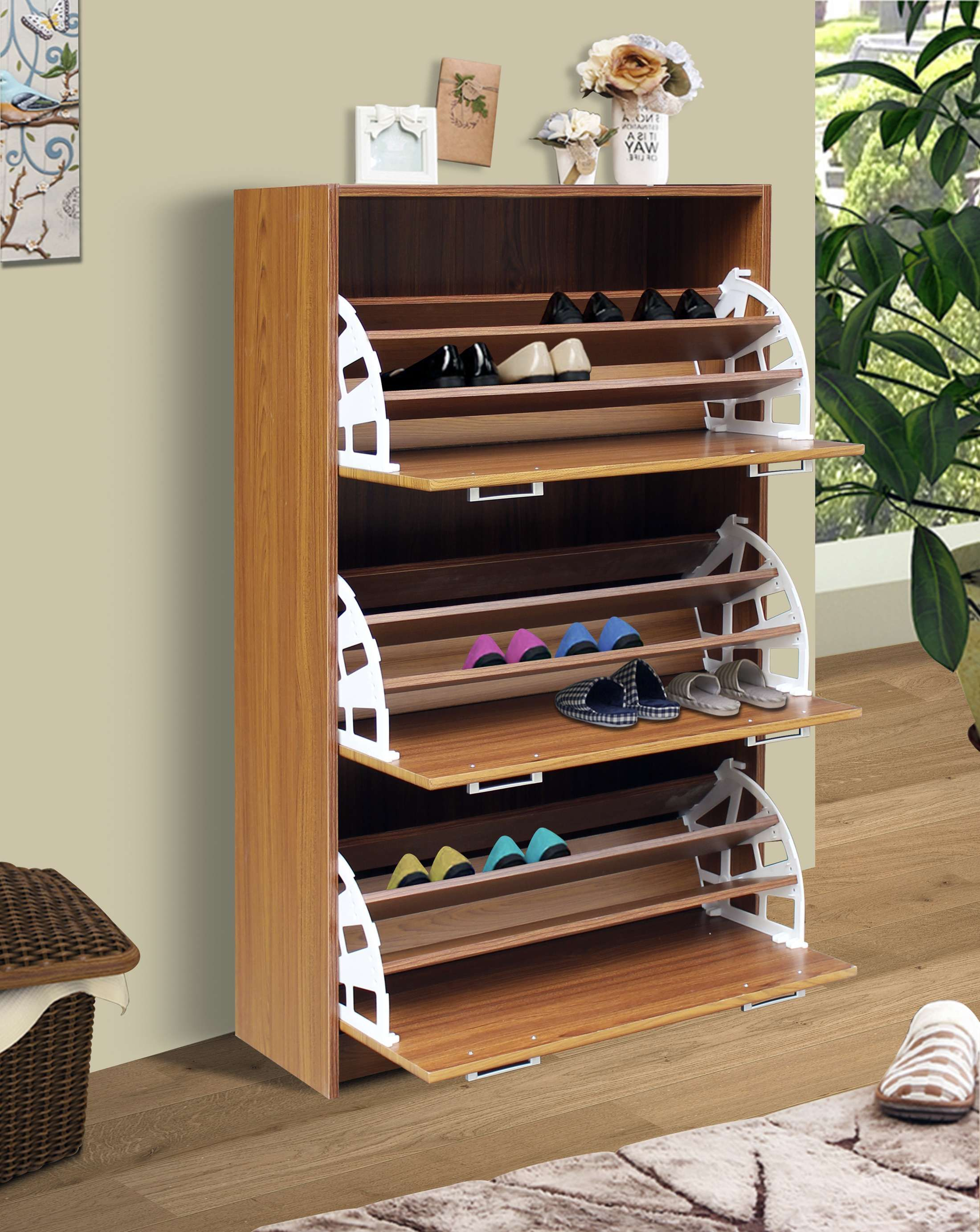 Wholesale Interiors Simms Maple 3 Drawer Modern Shoe Cabinet Hautelook Shoe Cabinet Design Shoe Storage Cabinet Shoe Cabinet