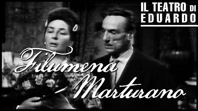 Eduardo De Filippo - Commedia scritta per Titina - Filumena Marturano - con Regina Bianchi