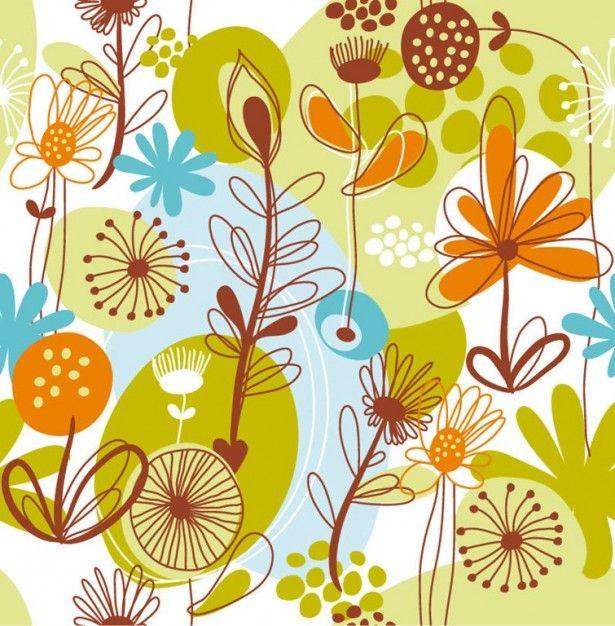Patrón floral. http://www.freepik.es/