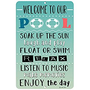 Pin On Funny Swimming Pool Signs