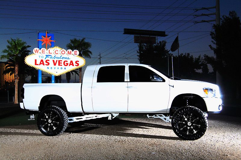 Picture White Dodge Ram With Rbp 94r Gloss Black With Chrome Inserts Wheels Dodge Houston Off Road Pros Houston Tx Dodge Ram Trucks Dodge Trucks Ram