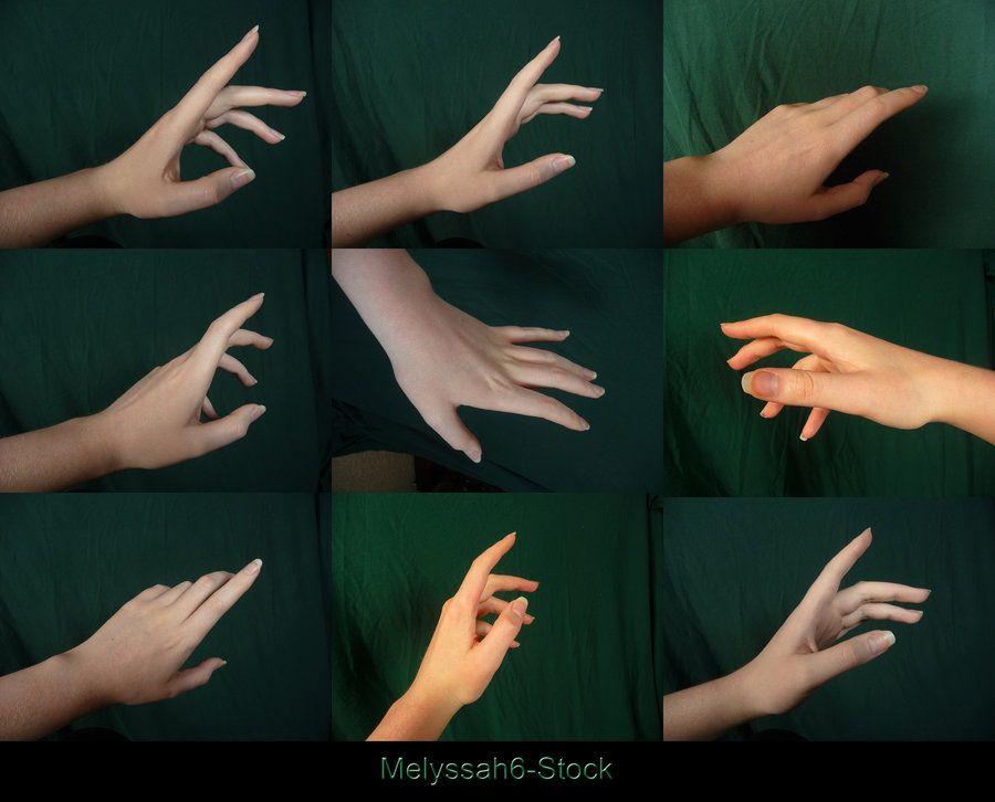 hand pose stock reaching